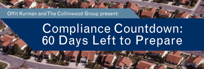 Compliance Countdown; 60 Days Left to Prepare.