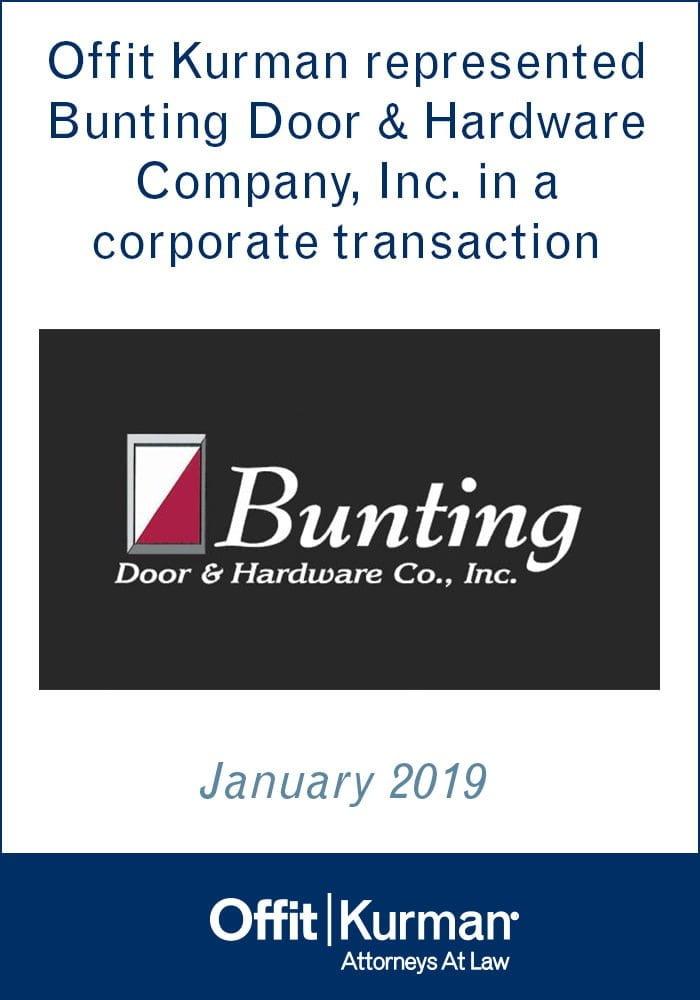 Bunting Hardware Company, Inc.