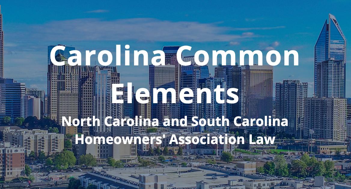 Carolina commons-feat
