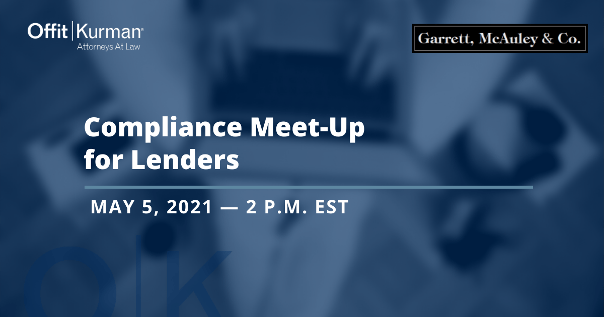 Compliance Meet-Up for Lenders