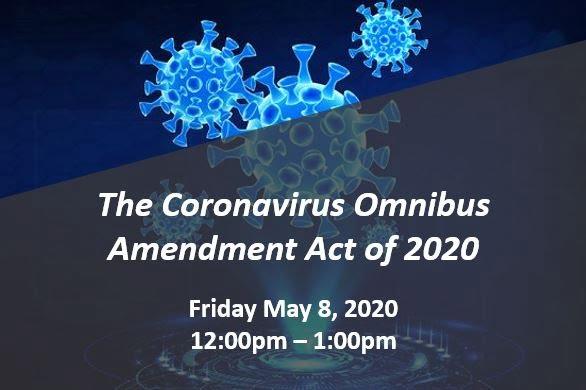 Coronavirus Omibus Webinar