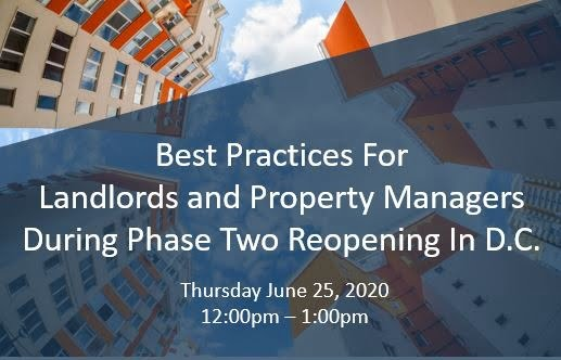 DC Reopening Phase two webinar