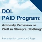 DOL PAID Program- Webinar
