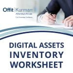 Digital Assets Inventory Worksheet