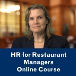 HR for Restaurant Managers