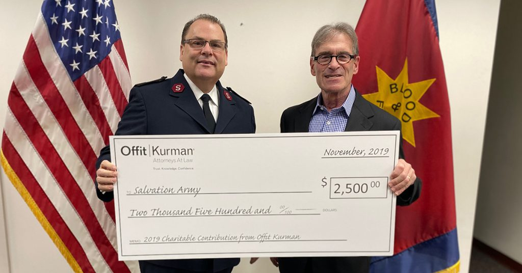 Members of the Offit Kurman Charitable Foundation