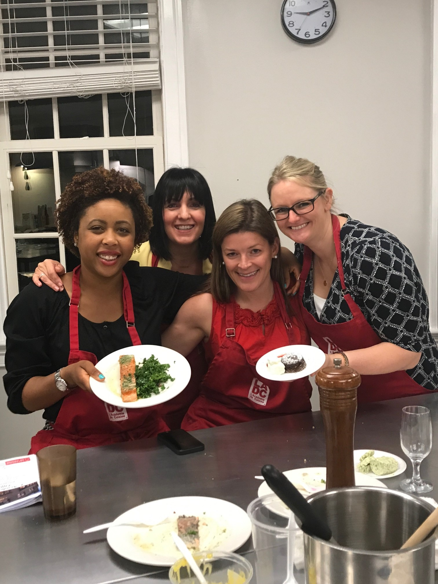 Think you can cook the offit kurman women take on a for Academie de cuisine bethesda md
