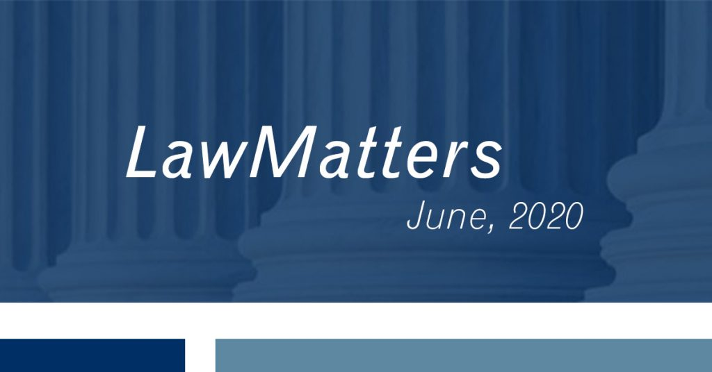 lawMatters june 2020