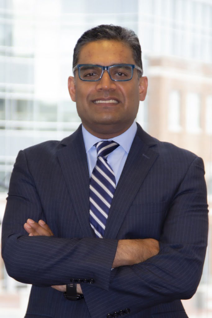 Headshot of Mohammad Ali Syed, principal attorney with the Employmeny Law Group Practice in Bethesda, MD