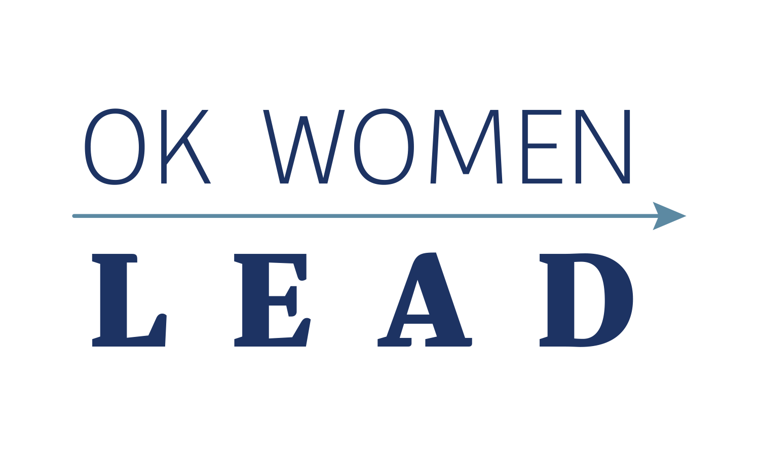 OK Women Lead Logo