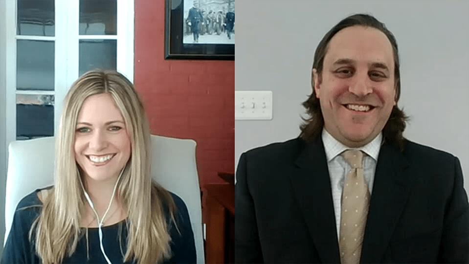 Sarah Sawyer and Rusell Berger