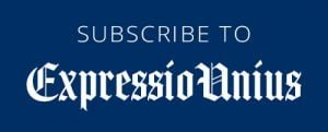 subscribe button for expressio Unius newsletter for tom repczynski