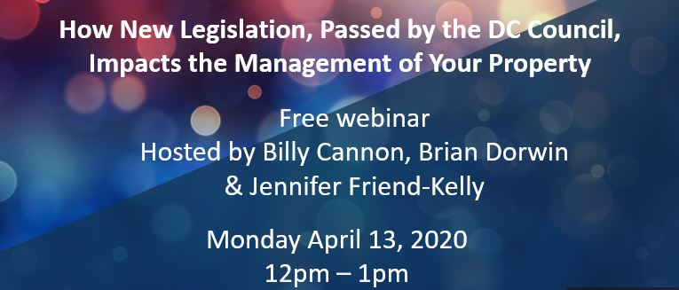 Webinar on April 13th