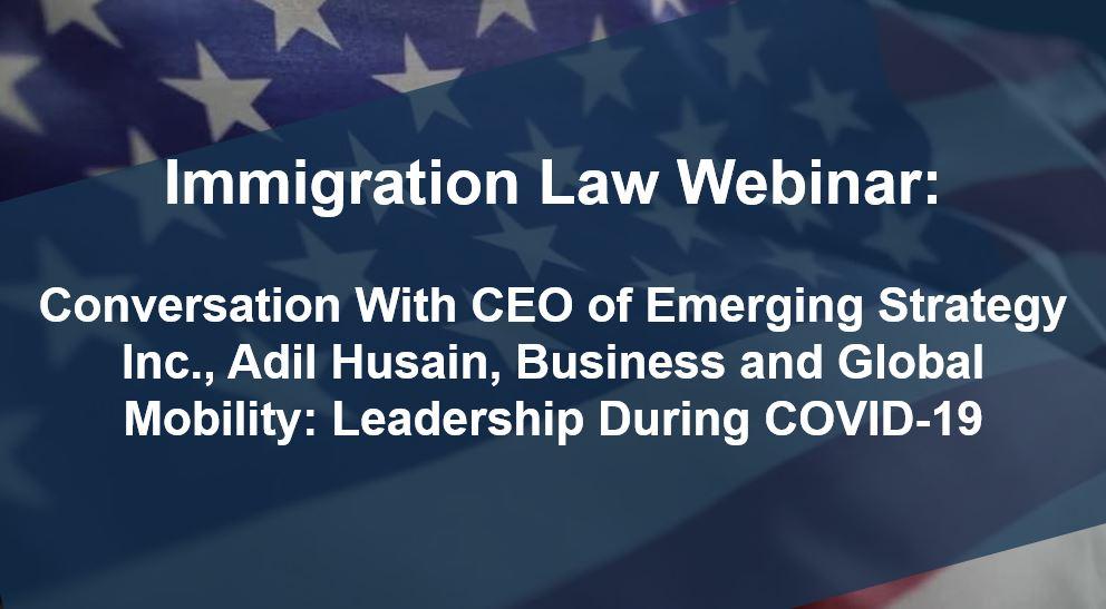 Webinar with Adil Husain