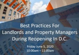 Best Practices during reopening DC