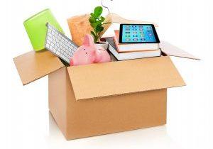 Cardboard,Box,Full,With,Household,Stuff