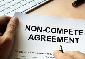 Man,Is,Signing,Non,Compete,Agreement