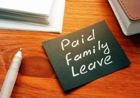 Text,Sign,Showing,Hand,Written,Words,Paid,Family,Leave
