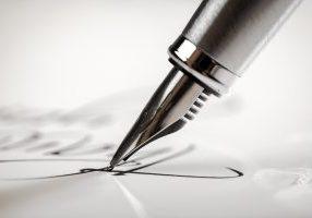Pen,,Writing,,Letter.