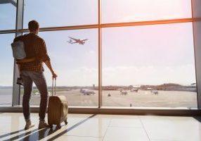traveling man image