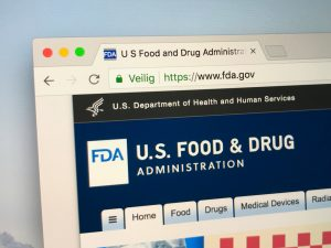 Official homepage of the FDA, The Food and Drug Administration.